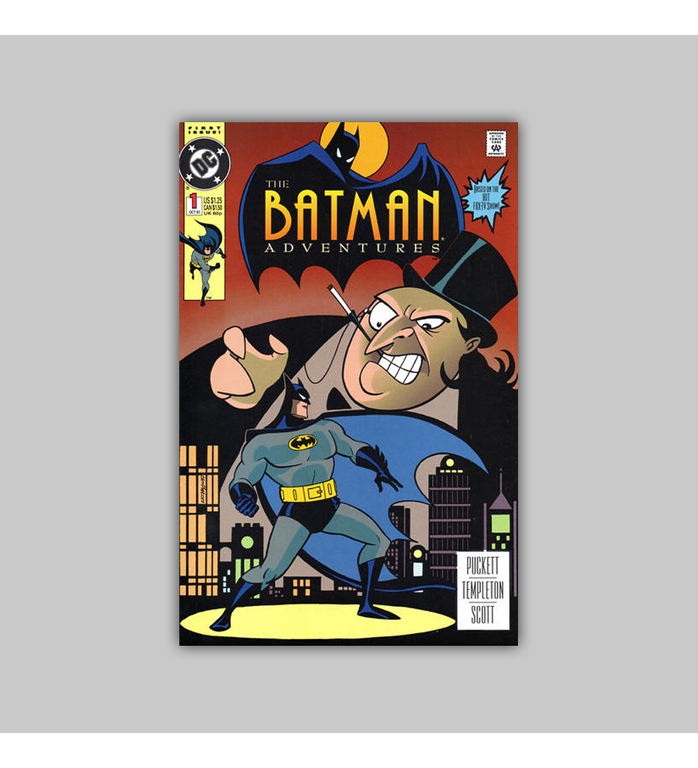 Batman Adventures 1 VF/NM (9.0) 1992