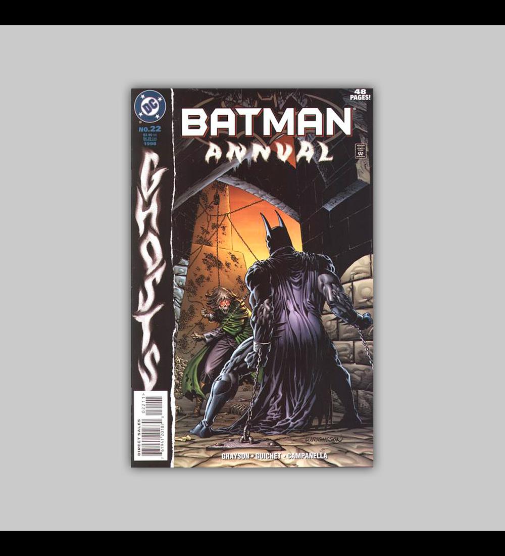 Batman Annual 22 1998