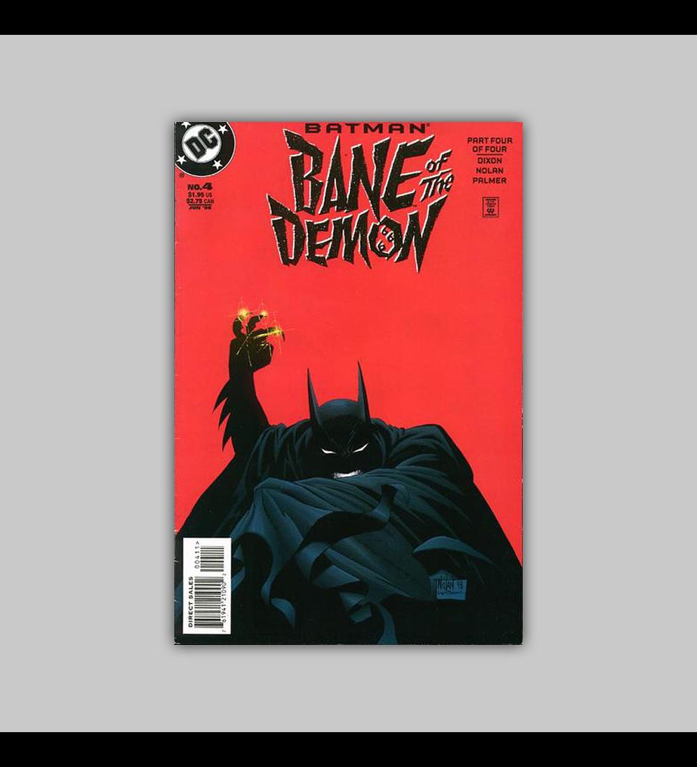 Batman: Bane of the Demon 4 1998