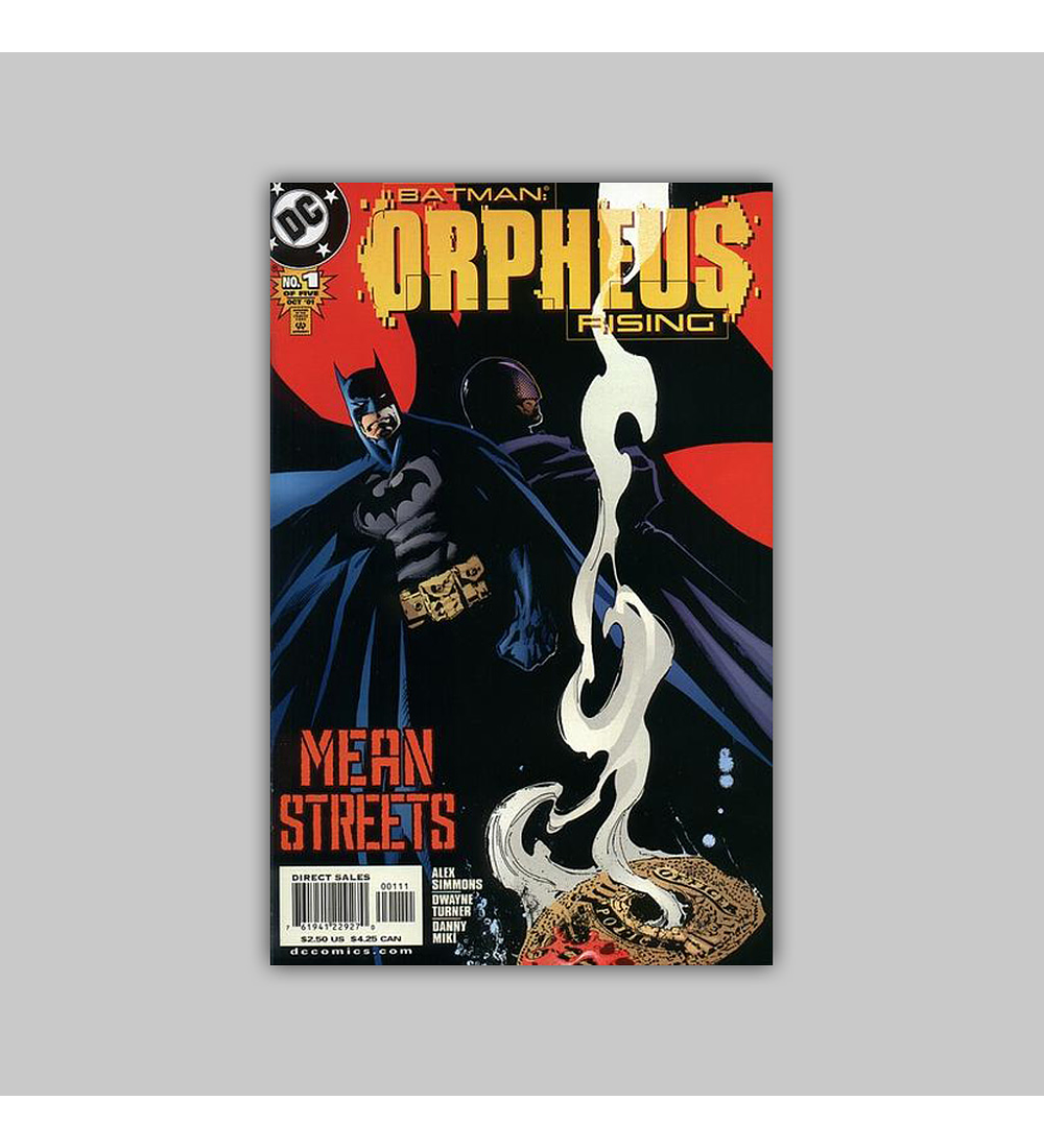 Batman: Orpheus Rising 1 2001