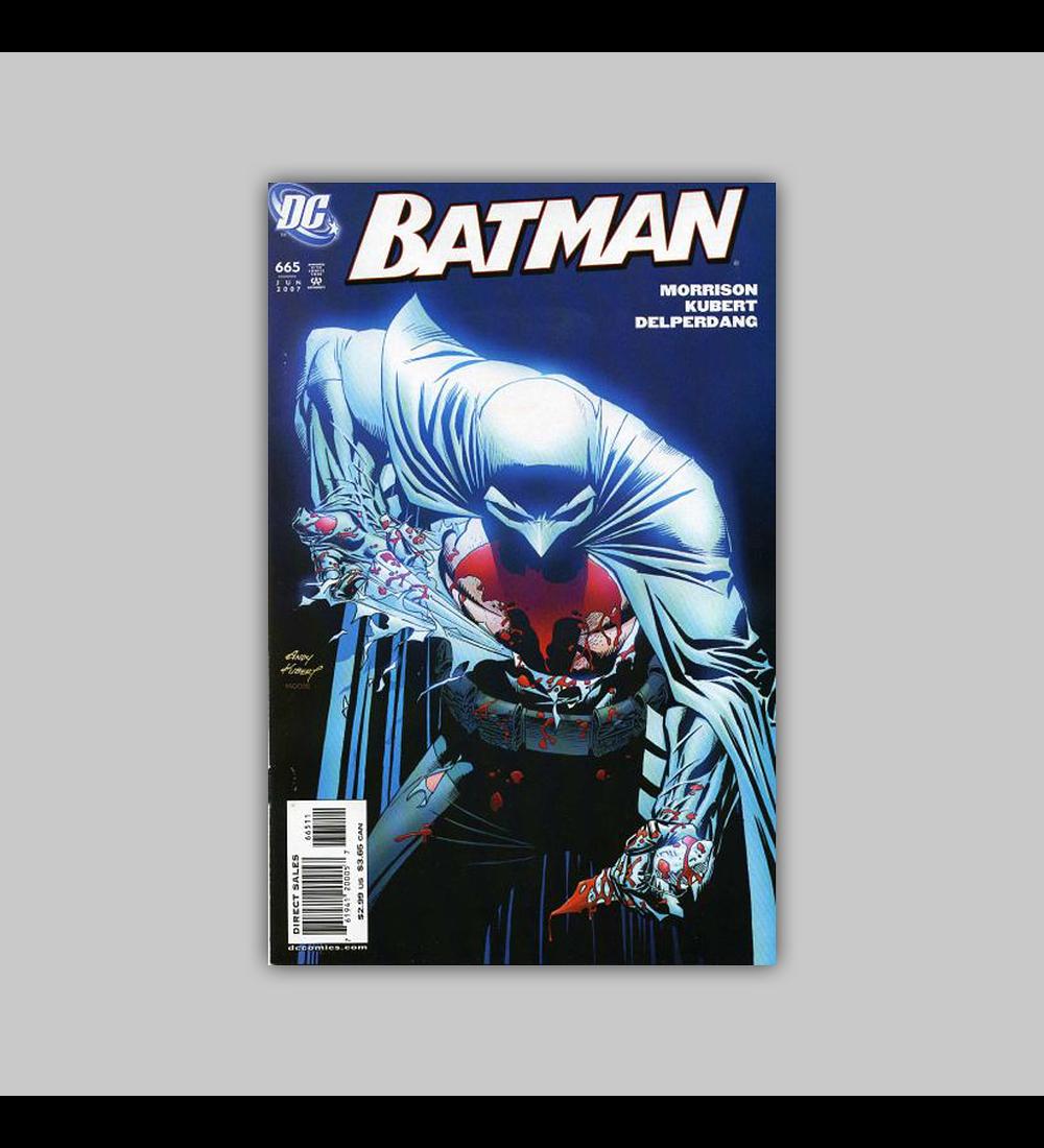 Batman 665 2007