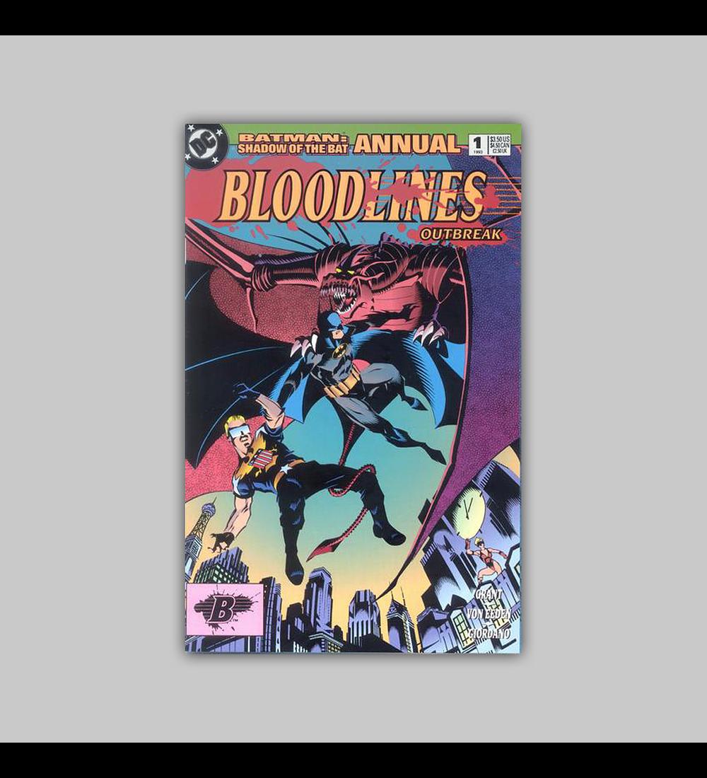 Batman: Shadow of the Bat Annual 1 1993