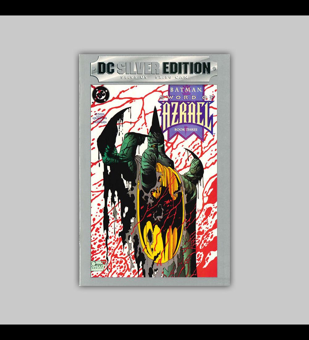 Batman: Sword of Azrael 3 DC Silver Edition 1992