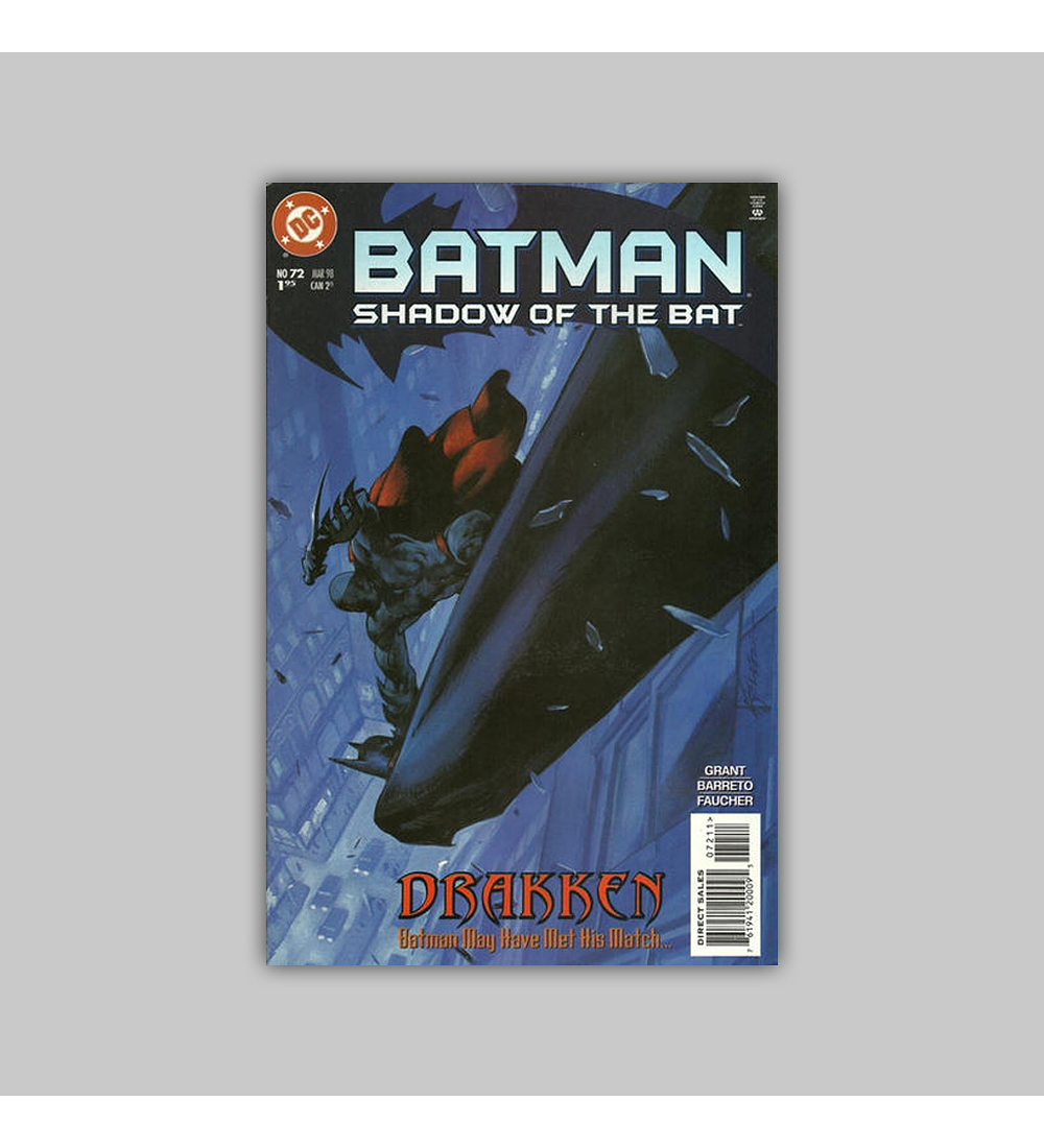 Batman: Shadow of the Bat 72 1998