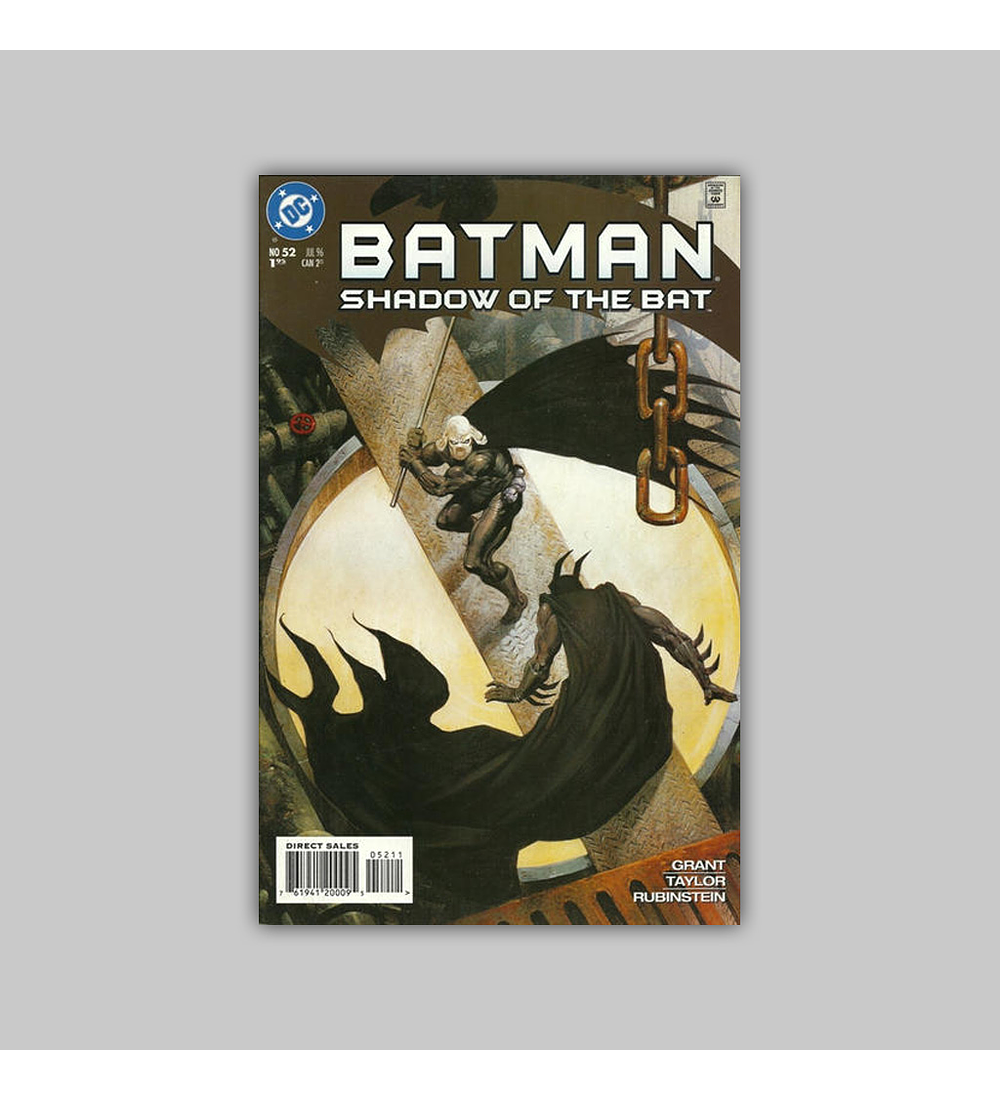 Batman: Shadow of the Bat 52 1996