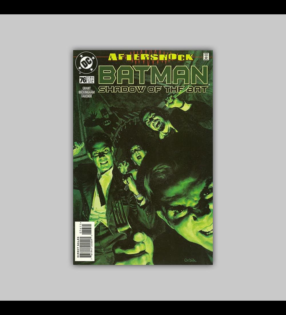 Batman: Shadow of the Bat 76 1998
