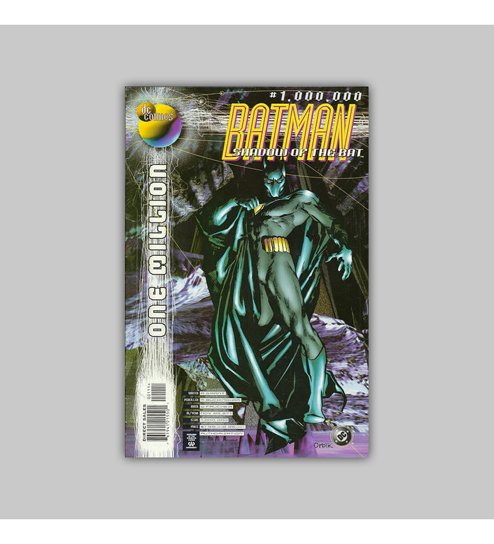 Batman: Shadow of the Bat: One Million 1998