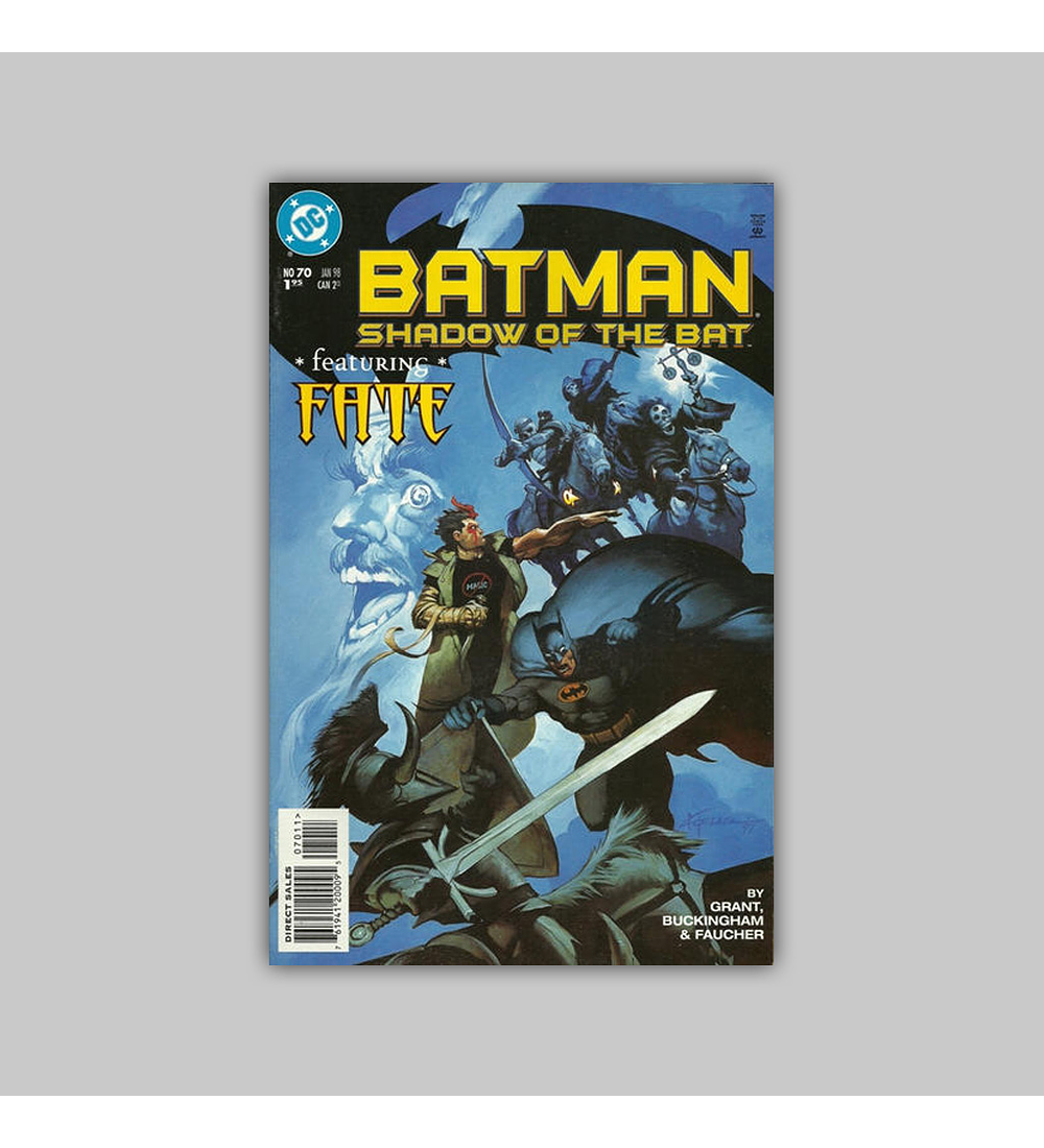 Batman: Shadow of the Bat 70 1998