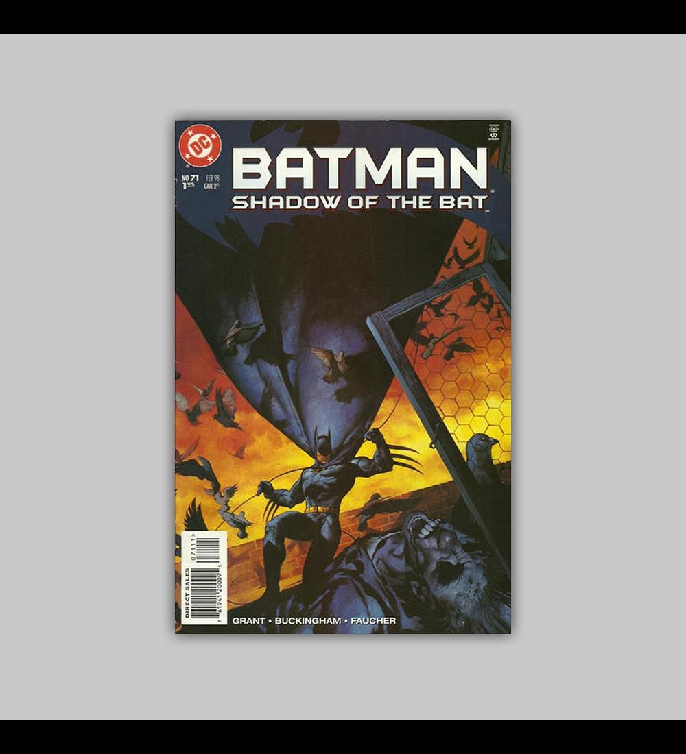 Batman: Shadow of the Bat 70 1998