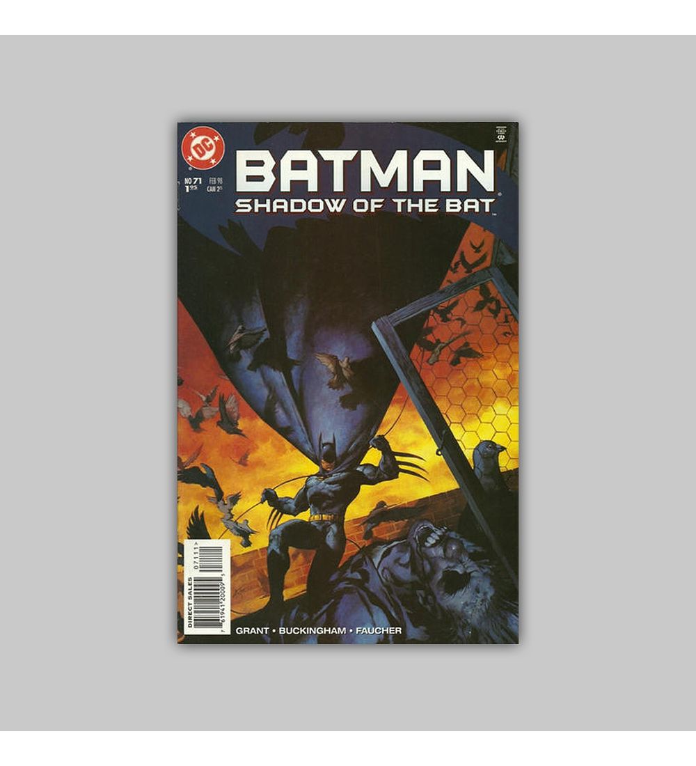 Batman: Shadow of the Bat 71 1998