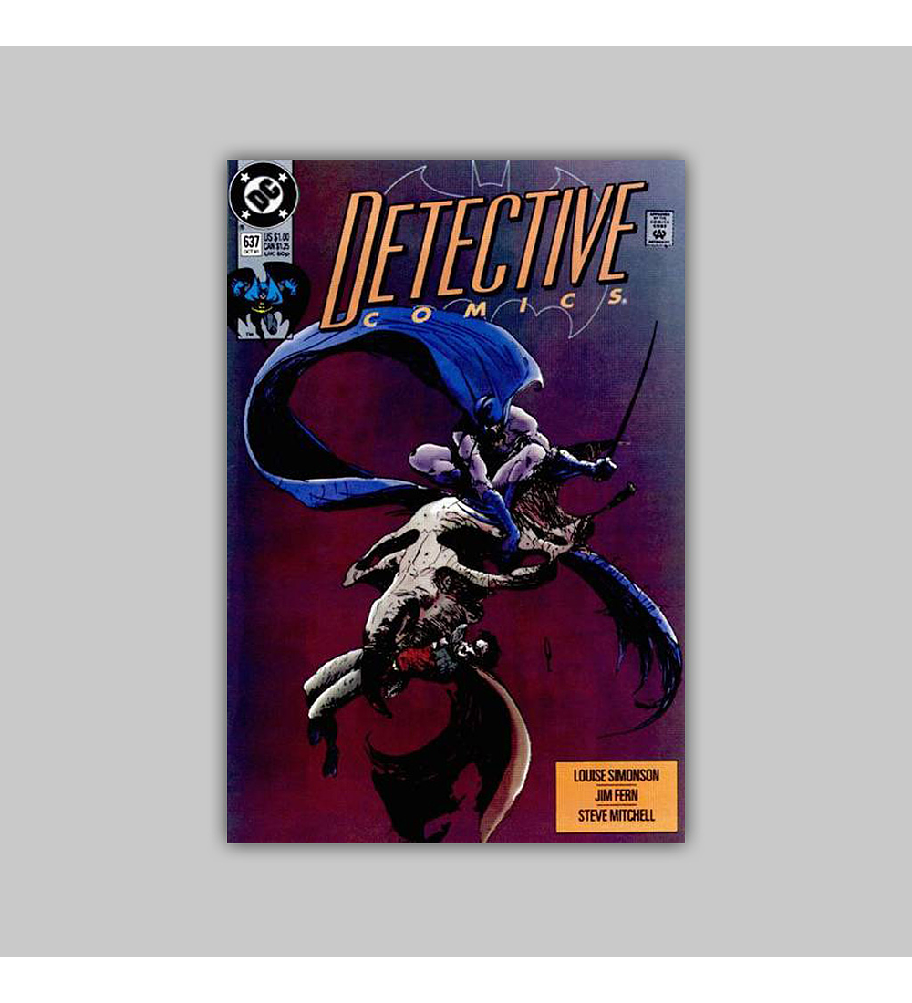 Detective Comics 637 1991