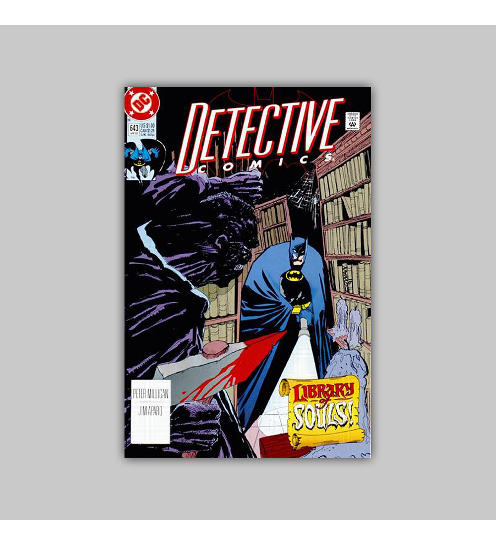 Detective Comics 643 1992