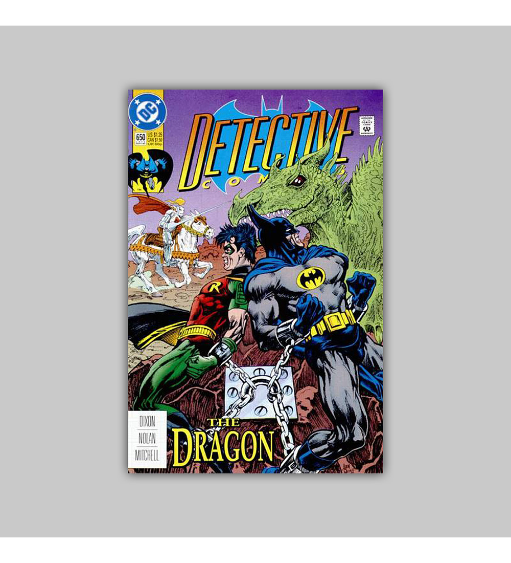 Detective Comics 650 1992