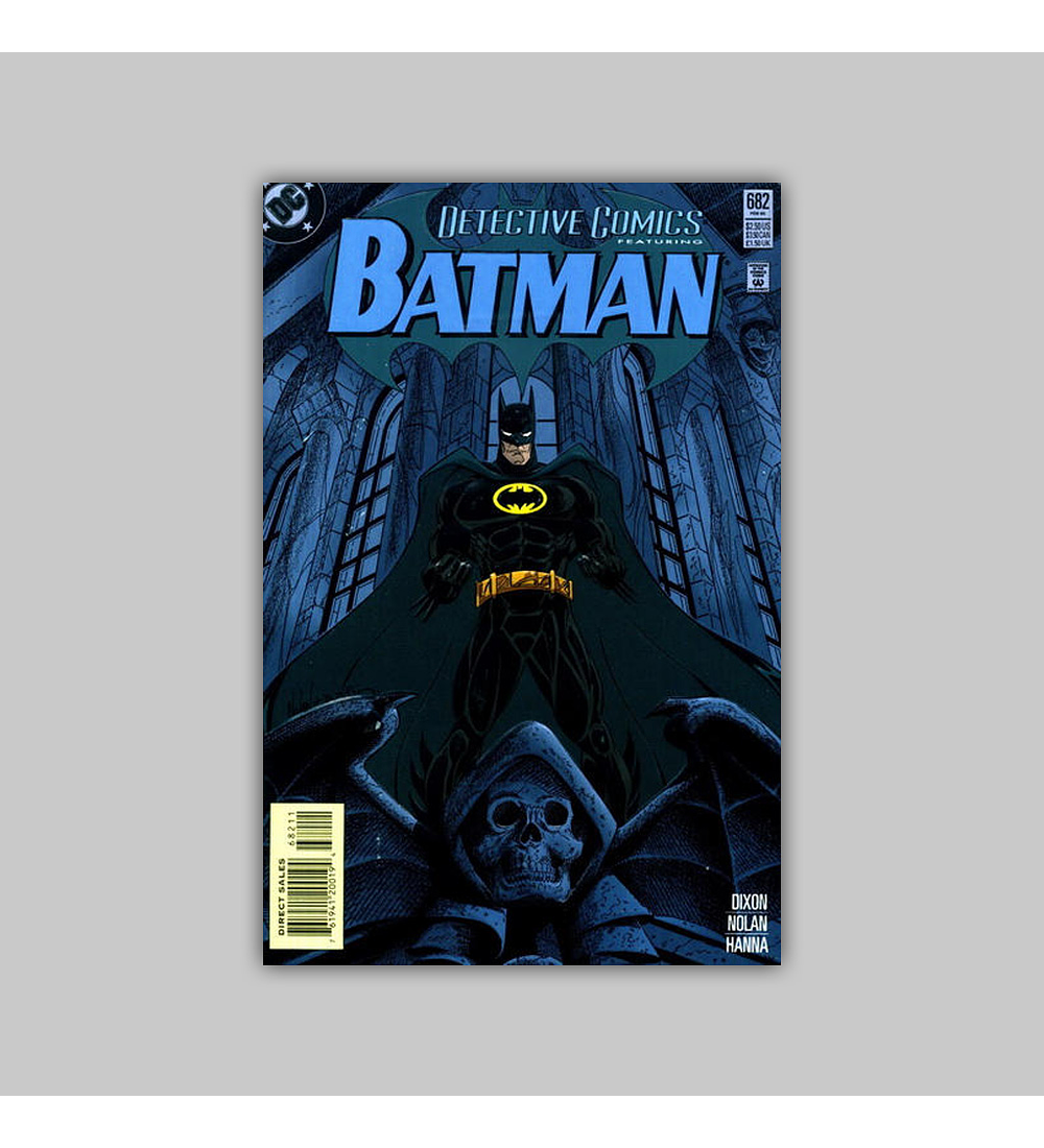 Detective Comics 682 Embossed 1995