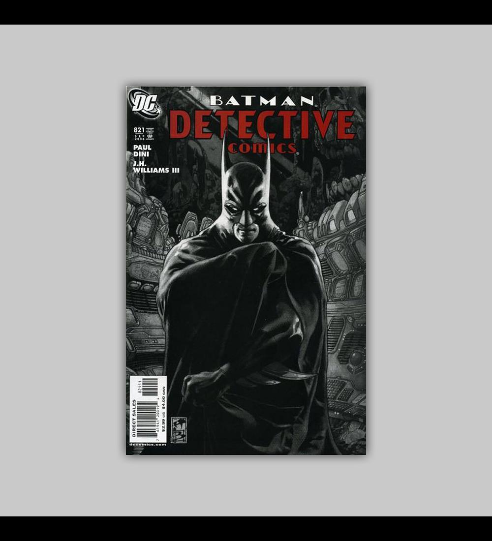 Detective Comics 821 2006