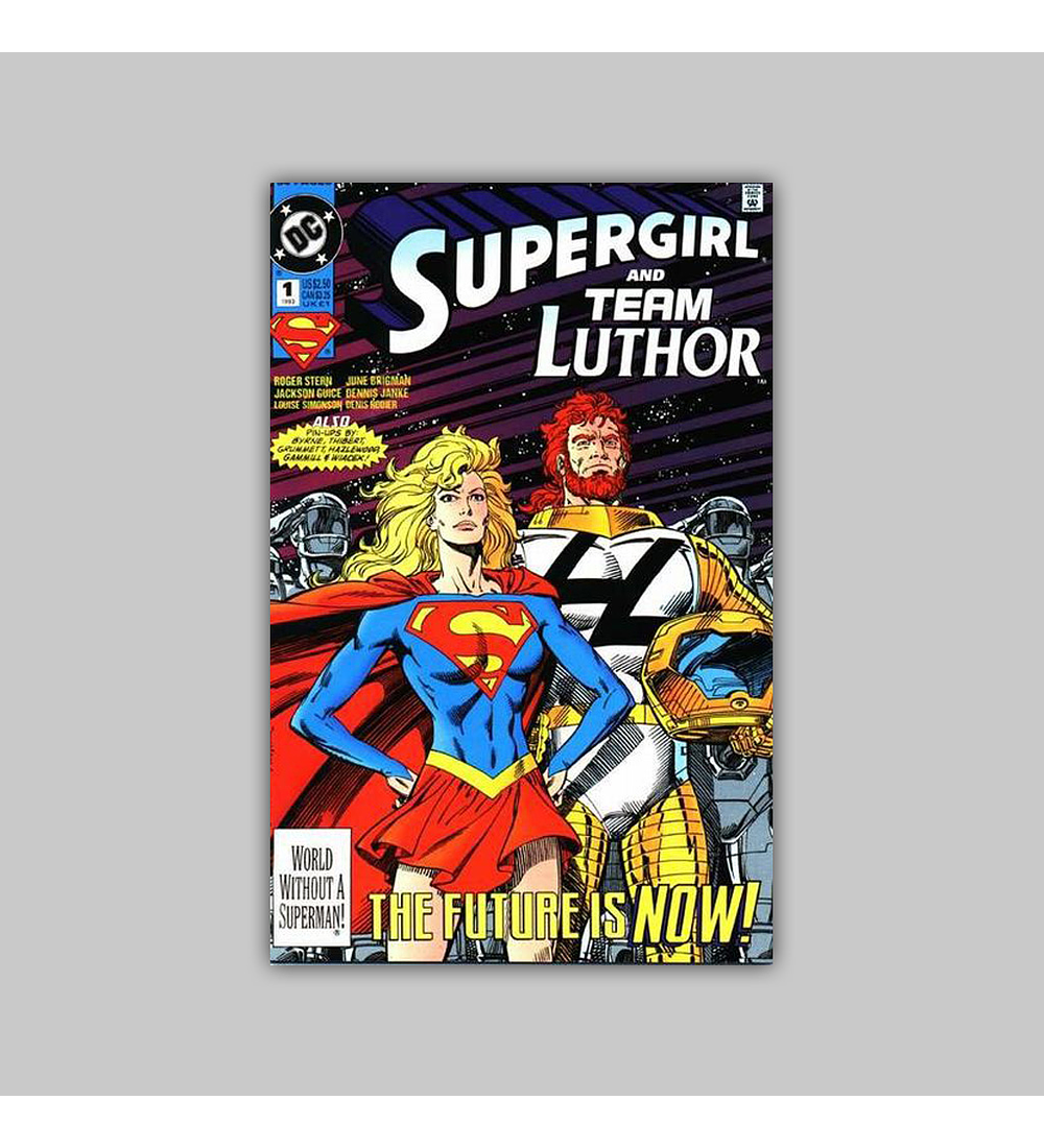 Supergirl and Team Luthor 1 1993