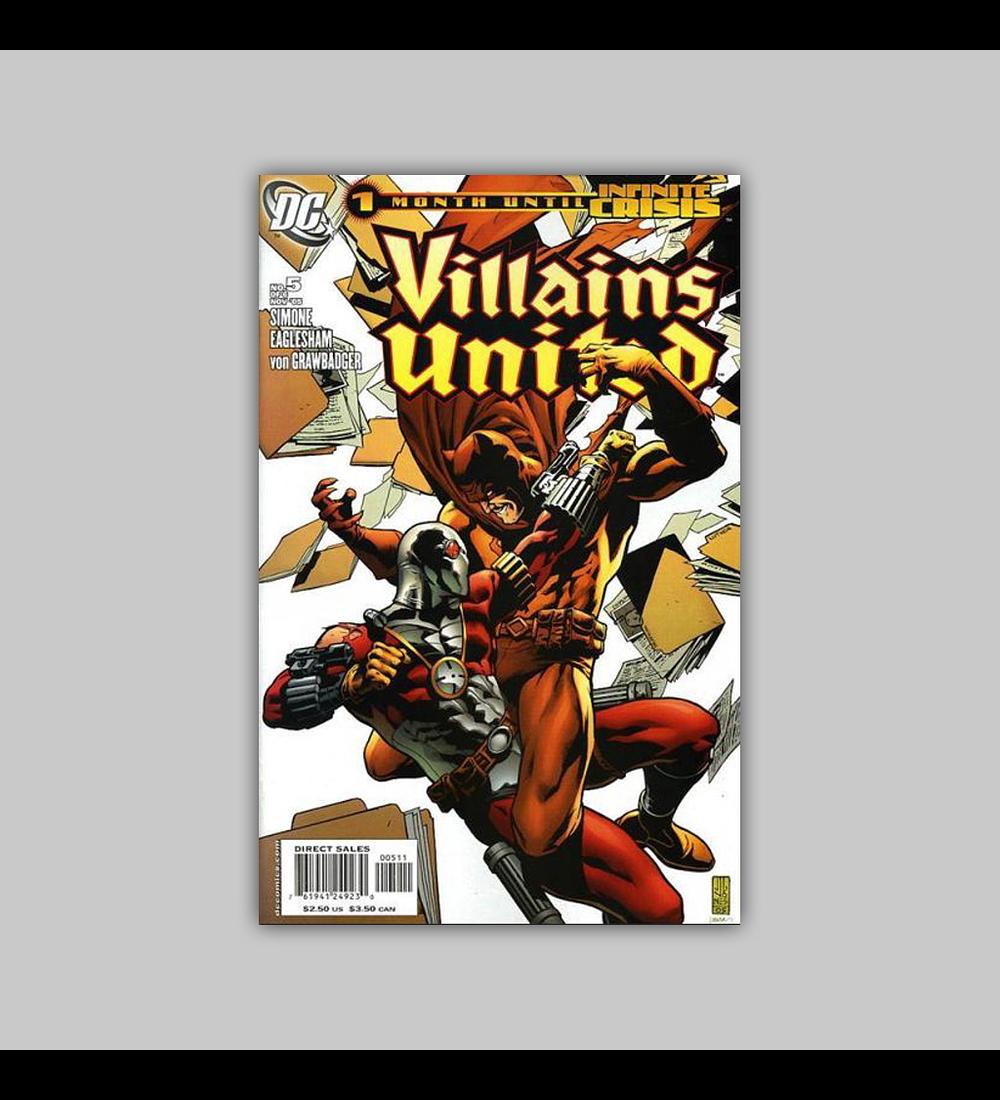 Villains United 5 2005