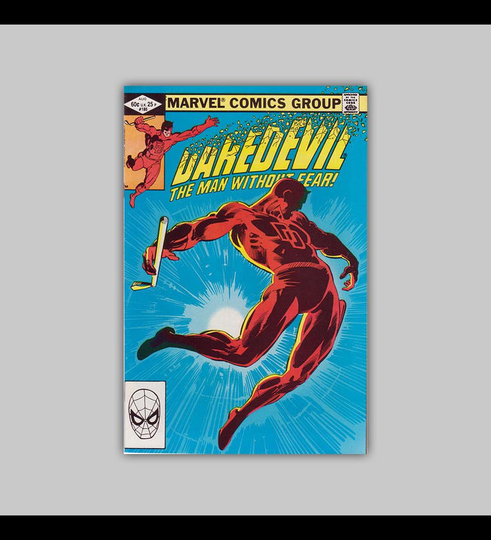 Daredevil 185 1982