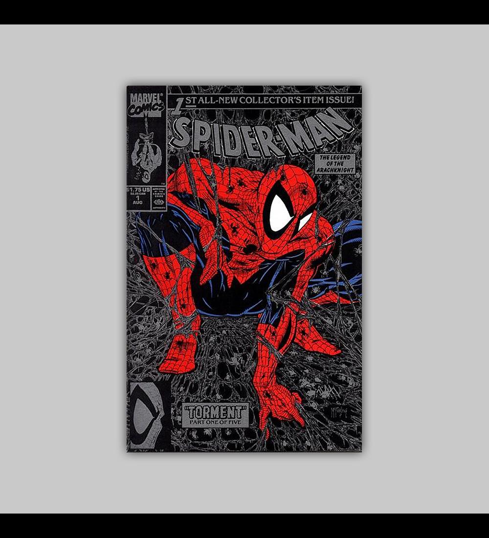 Spider-Man 1 Silver 1990