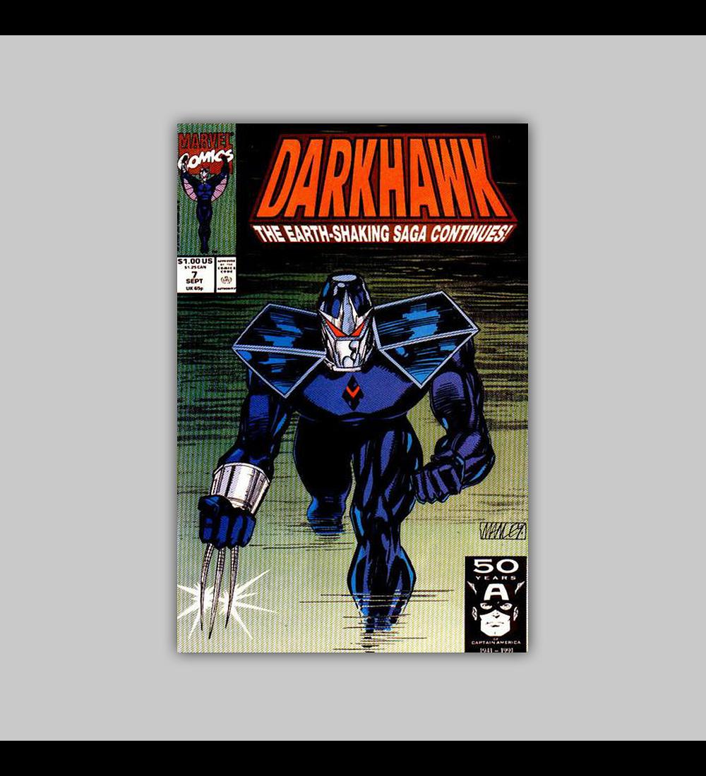 Darkhawk 7 1991