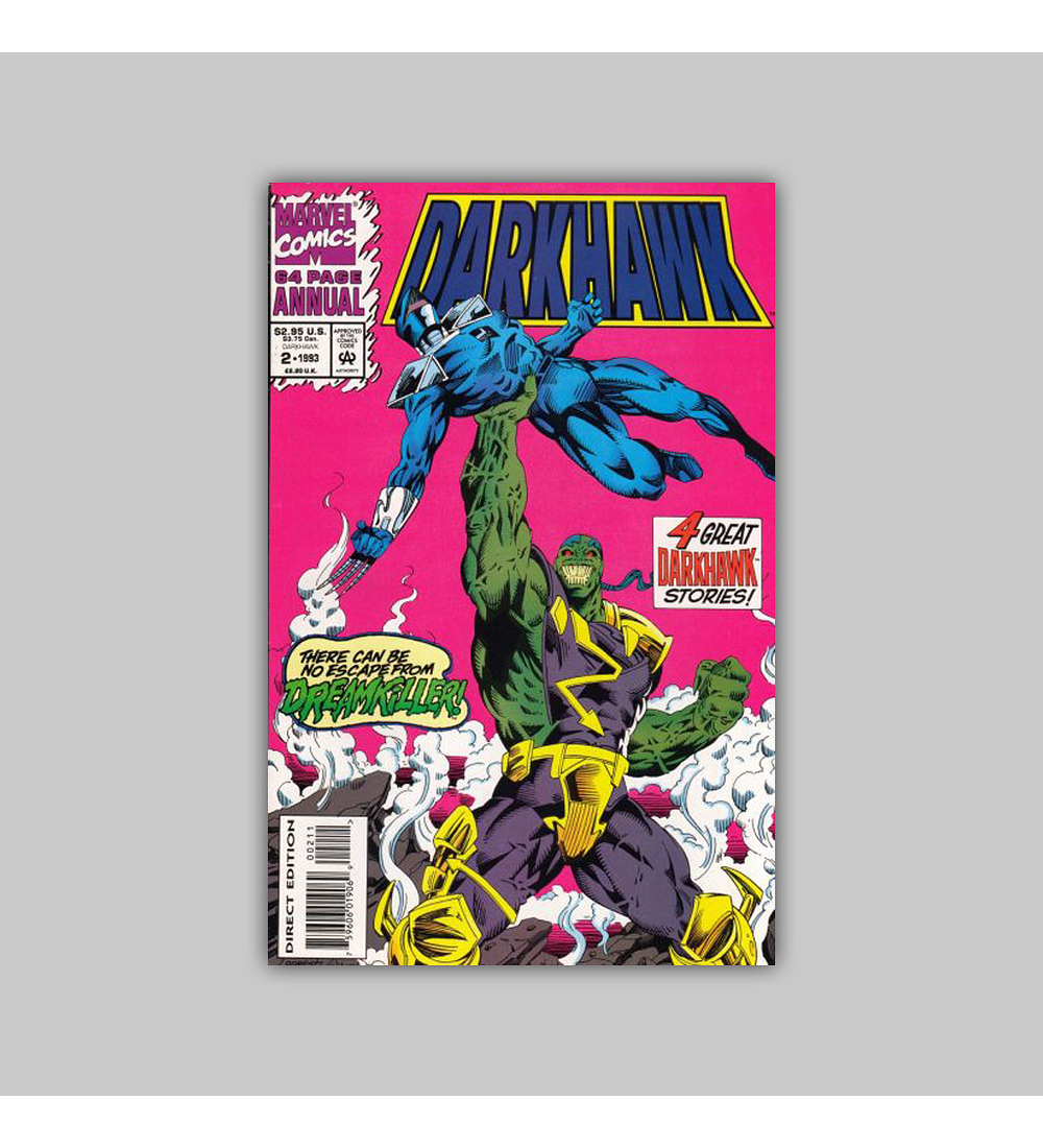 Darkhawk Annual 2 Polybagged 1993