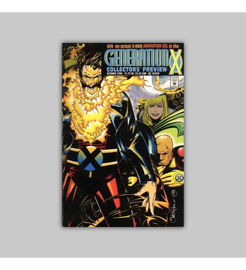 Generation X Collector's Preview 1994