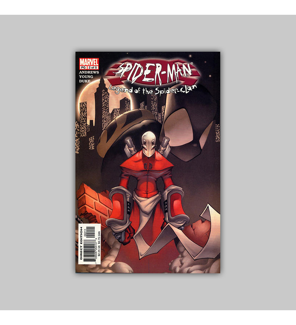 Spider-Man: Legend of the Spider-Clan 2 2003