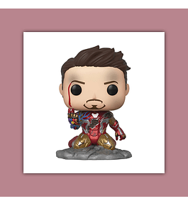Pop! Avengers Endgame Vinyl Figure: I Am Iron Man GID Deluxe