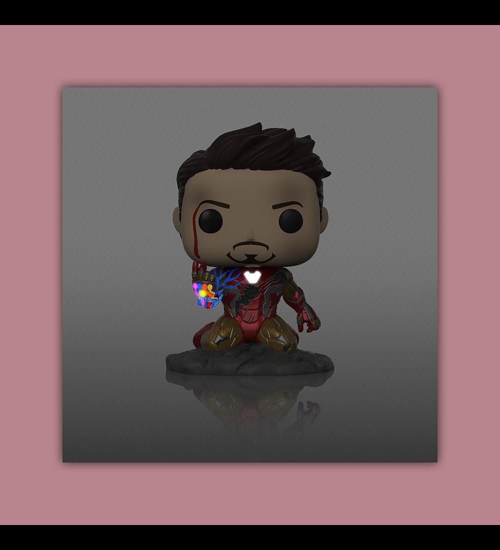 Pop! Avengers Endgame Vinyl Figure: I Am Iron Man GID Deluxe