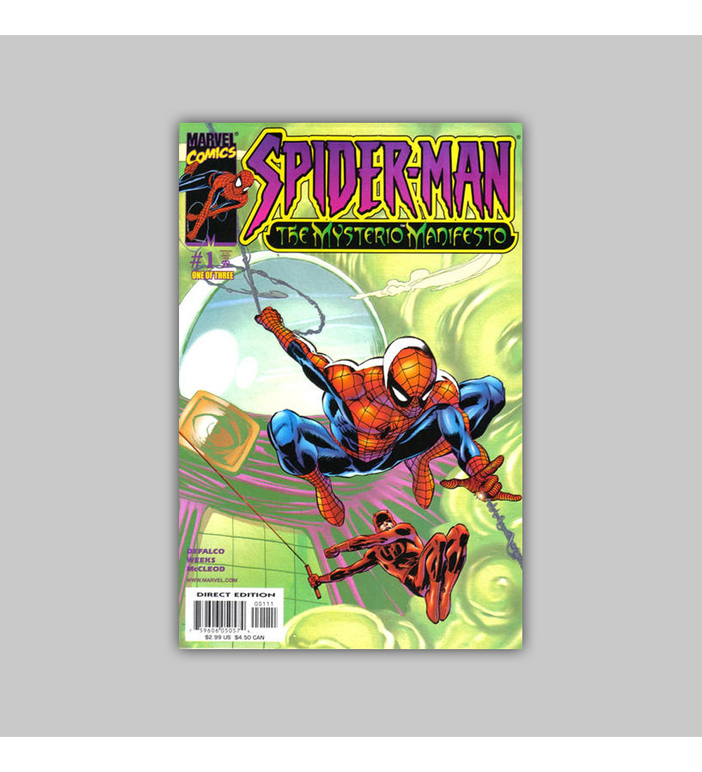 Spider-Man: The Mysterio Manifesto 1 2001