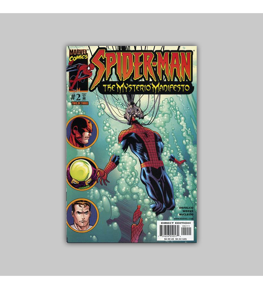 Spider-Man: The Mysterio Manifesto 2 2001