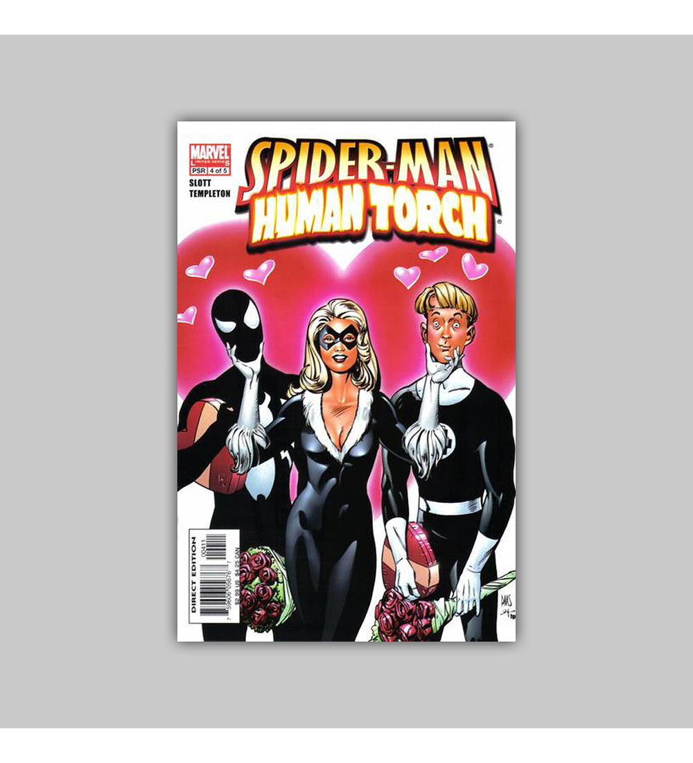 Spider-Man/Human Torch 4 2005