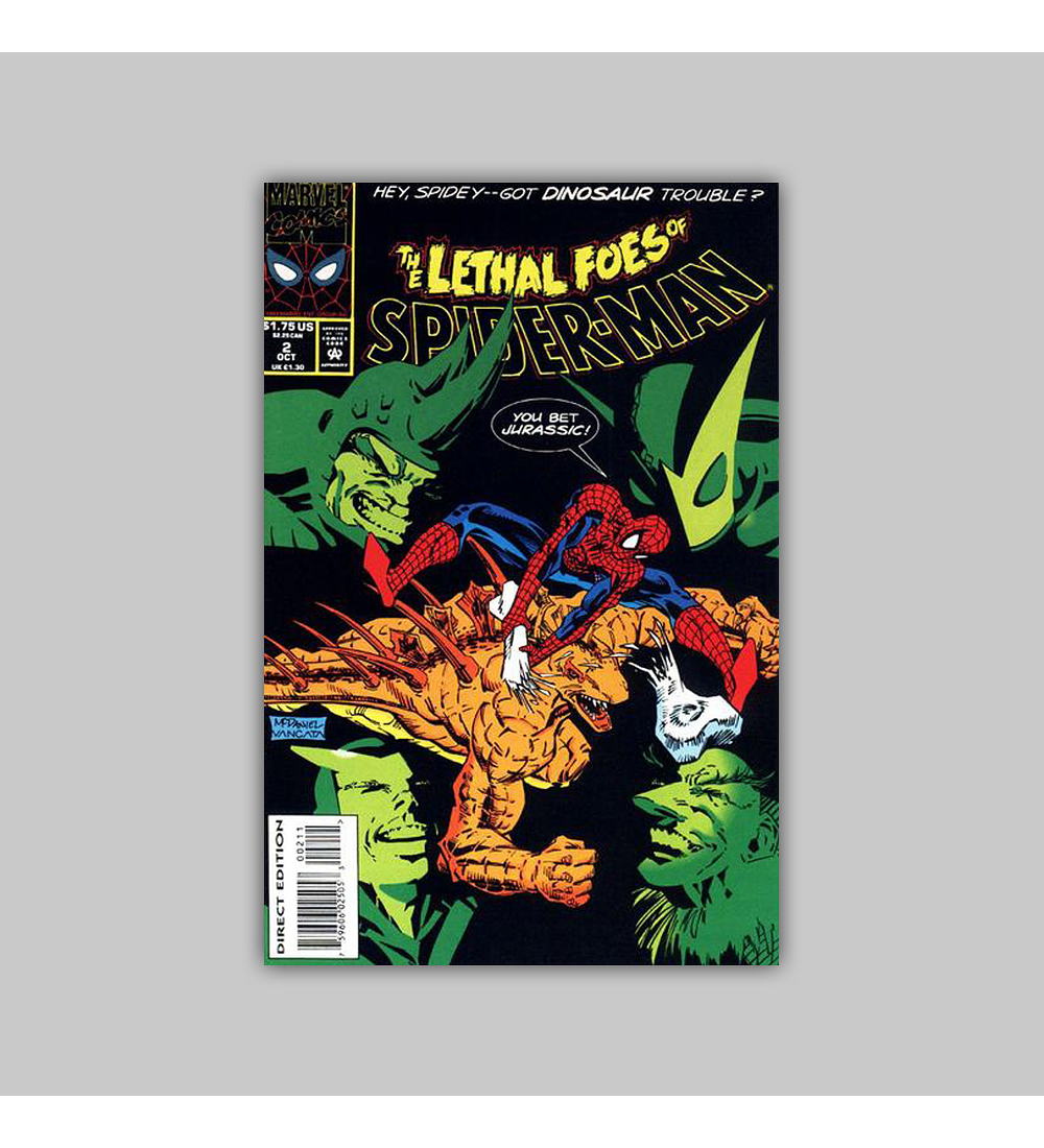 The Lethal Foes of Spider-Man 2 1993