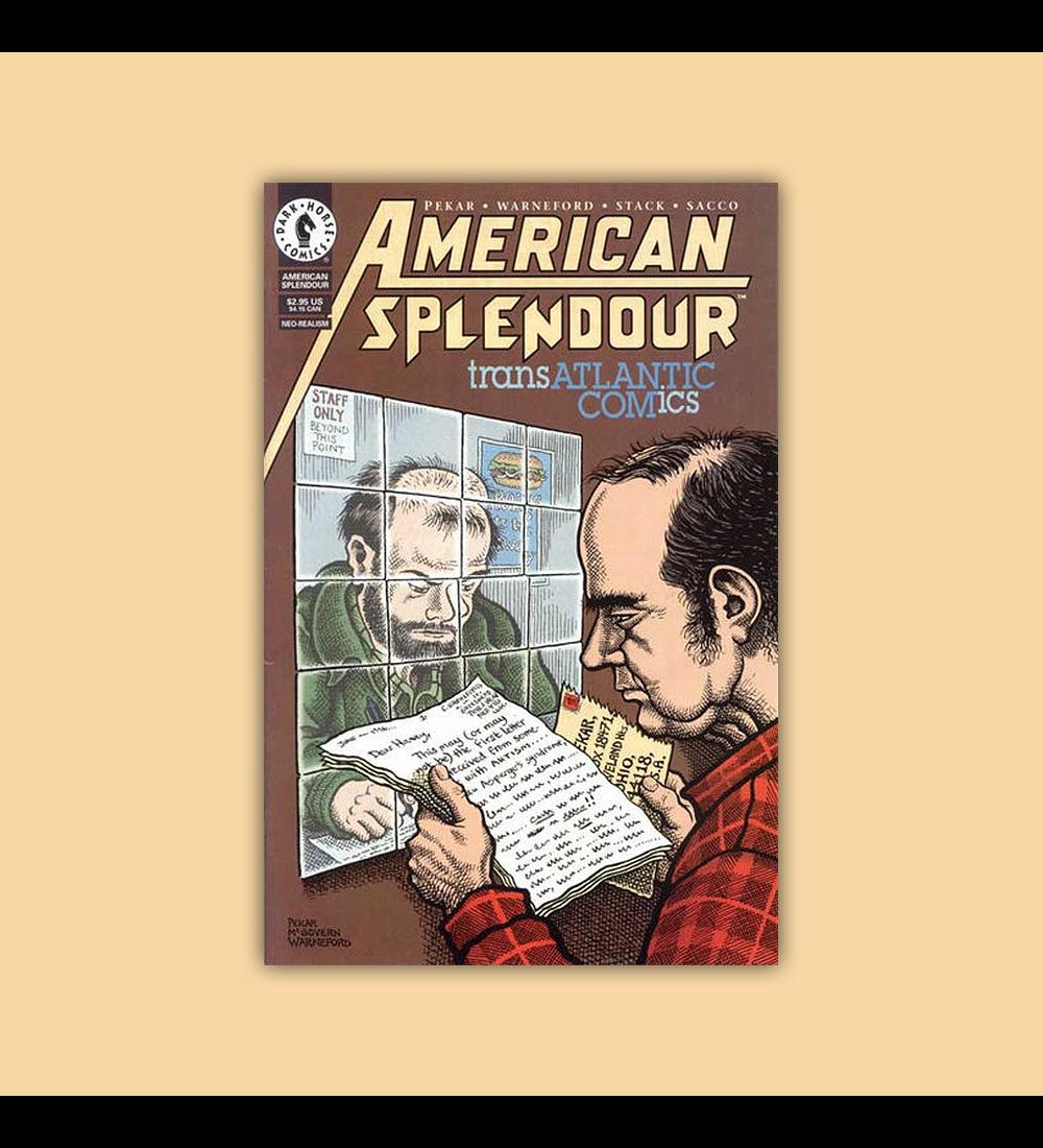 American Splendor: Transatlantic Comics 1998