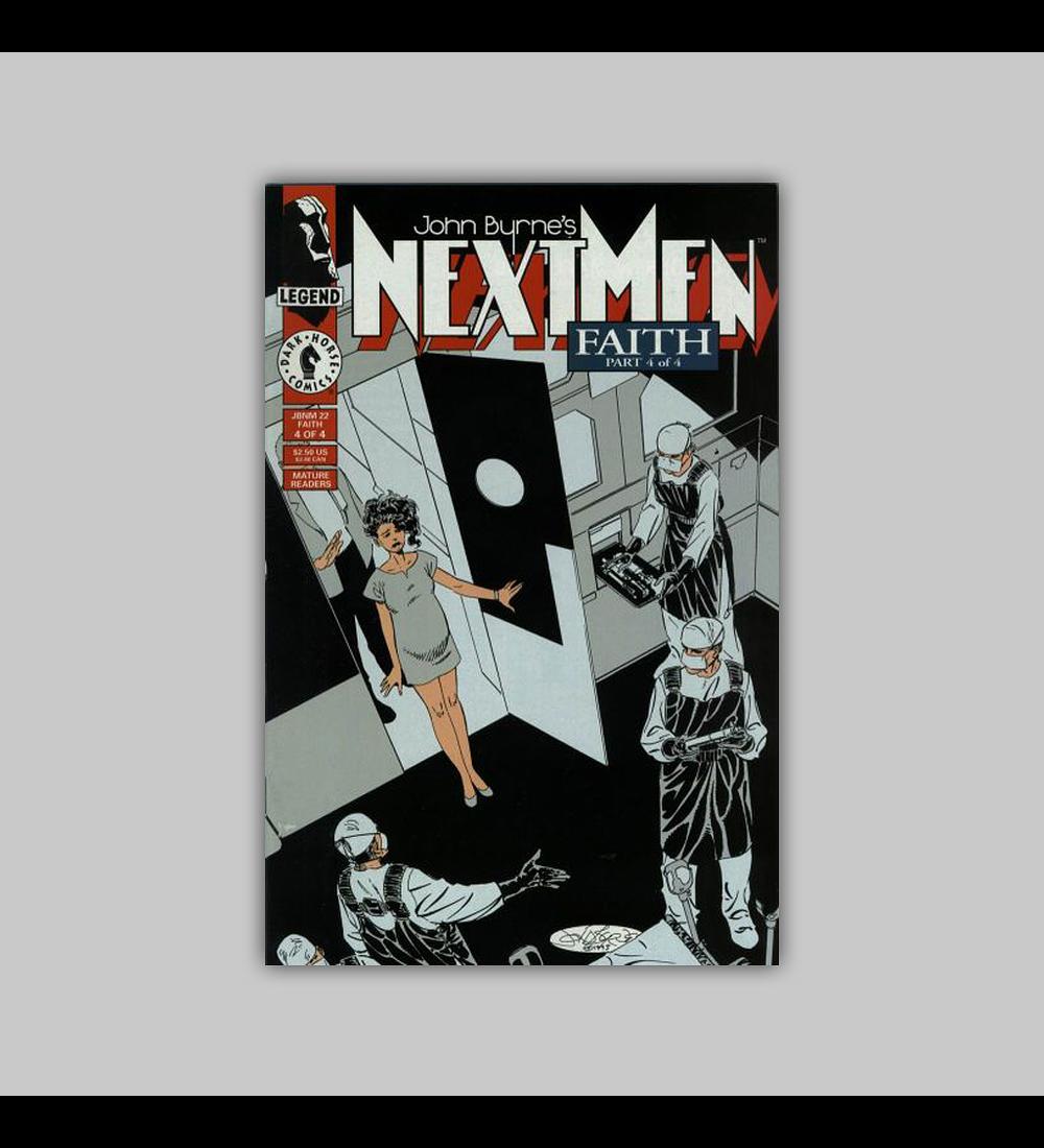 Next Men: Faith (complete limited series) 1993