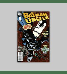 Batman: Unseen (complete limited series) 2010