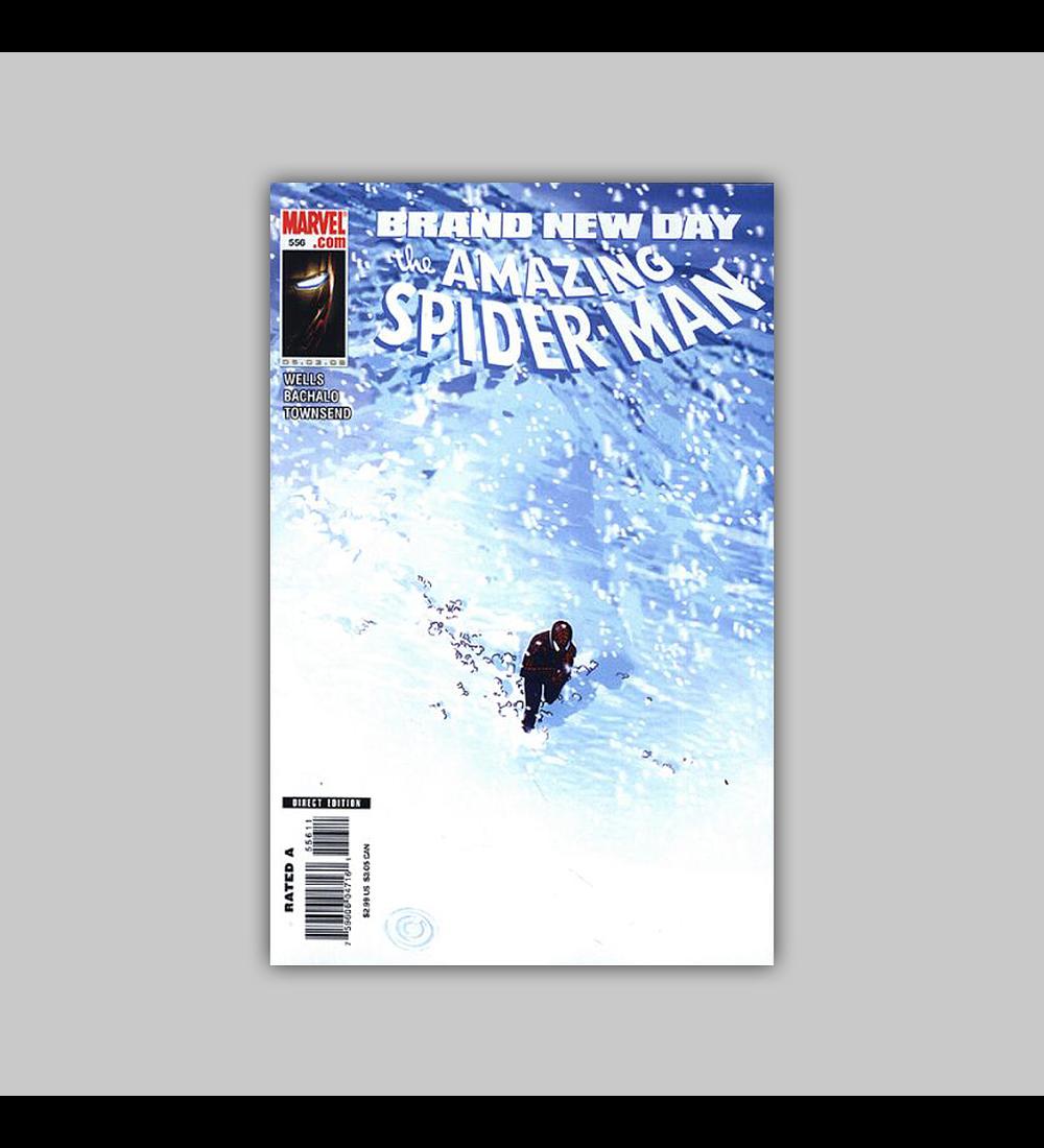 Amazing Spider-Man 556 2008