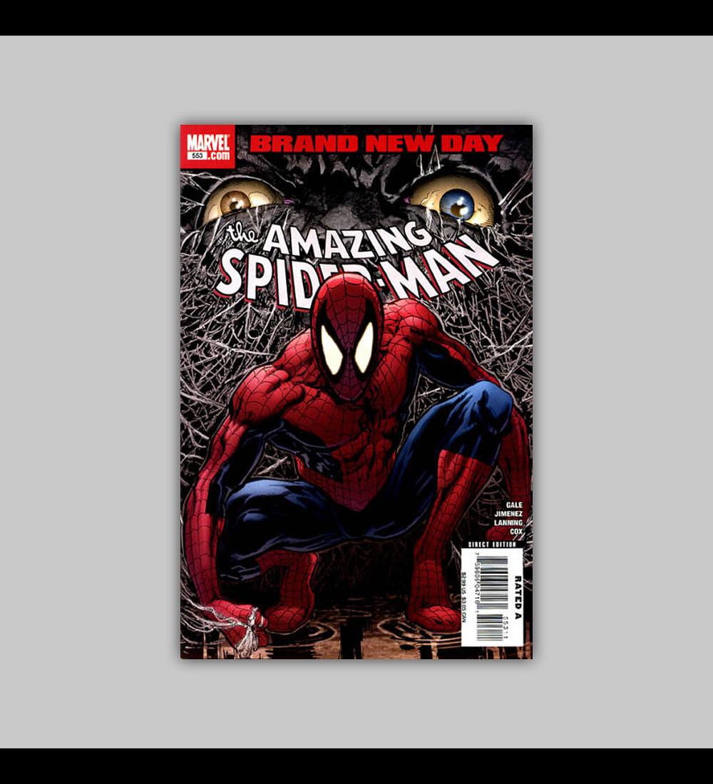 Amazing Spider-Man 553 2008