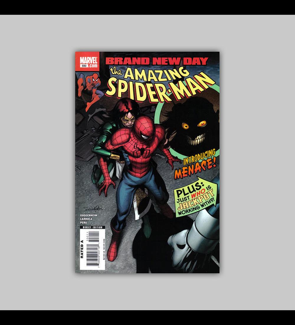 Amazing Spider-Man 550 2008