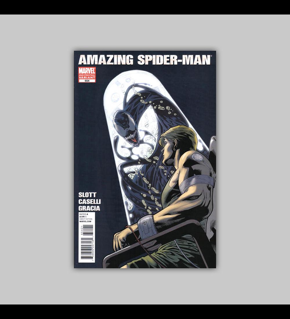 Amazing Spider-Man 654 2nd printing 2011