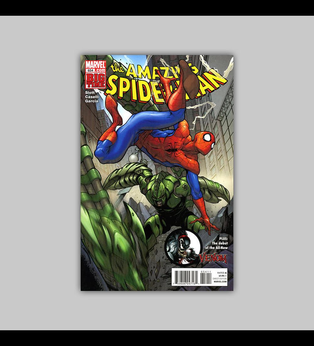 Amazing Spider-Man 654 2011