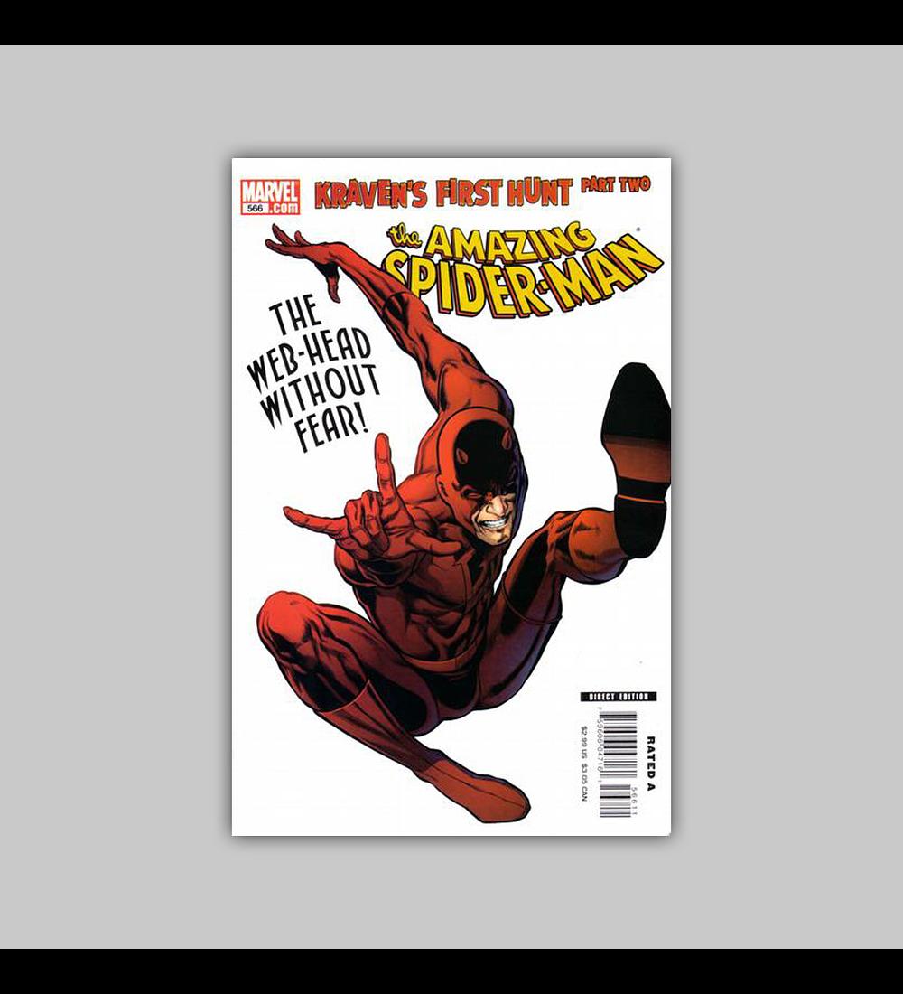Amazing Spider-Man 566 2008