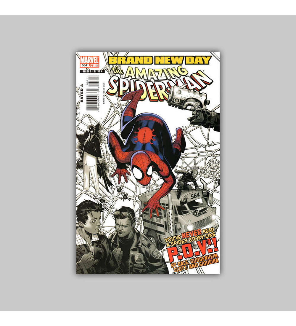 Amazing Spider-Man 564 2008