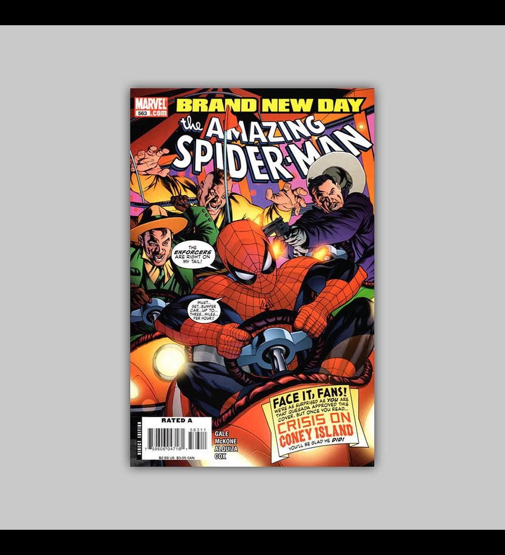 Amazing Spider-Man 563 2008