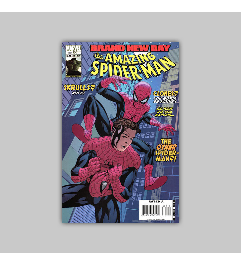 Amazing Spider-Man 562 2008