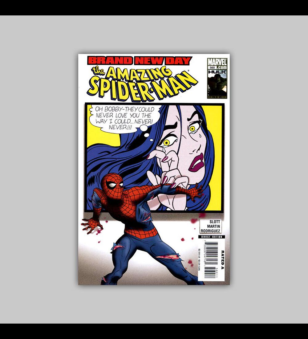 Amazing Spider-Man 560 2008