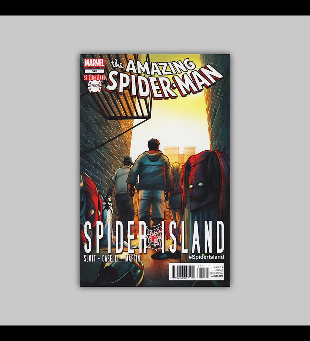 Amazing Spider-Man 673 2012