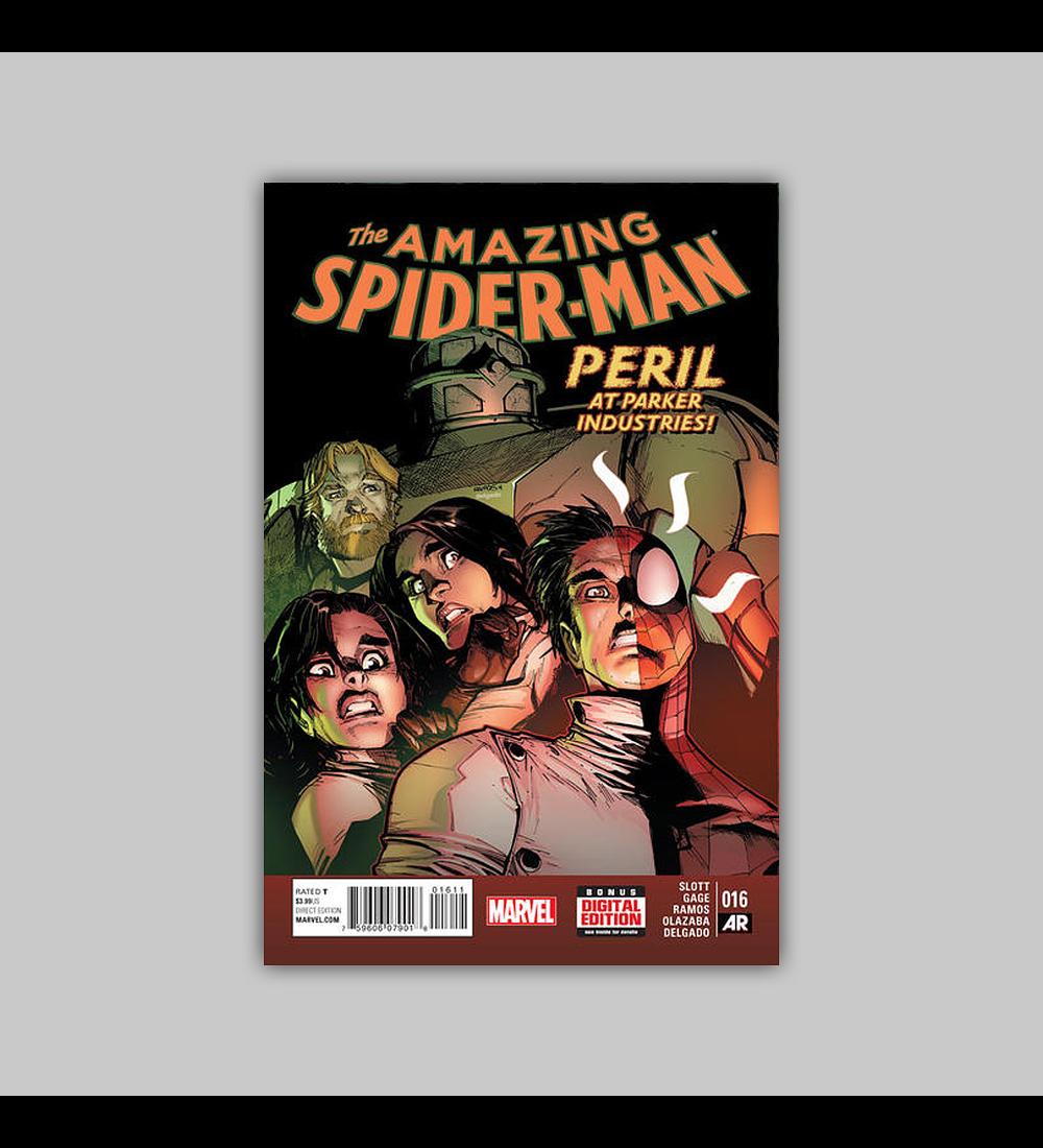 Amazing Spider-Man (Vol. 3) 16 2015