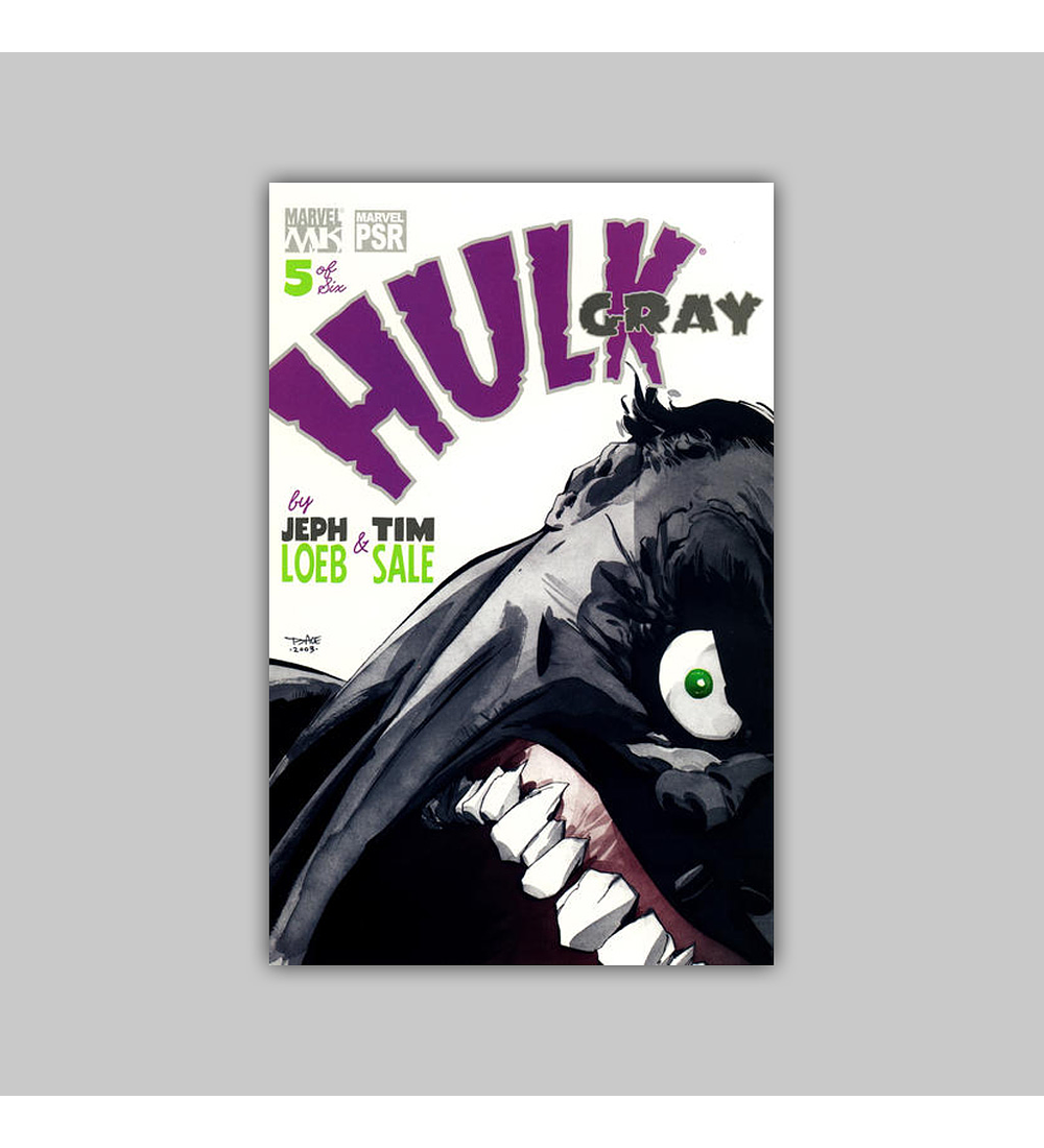 Hulk: Gray (complete limited series) 2003