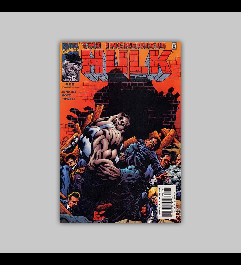 Incredible Hulk (Vol. 2) 22 2001